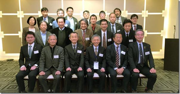 神奈川県支部同窓会集合写真